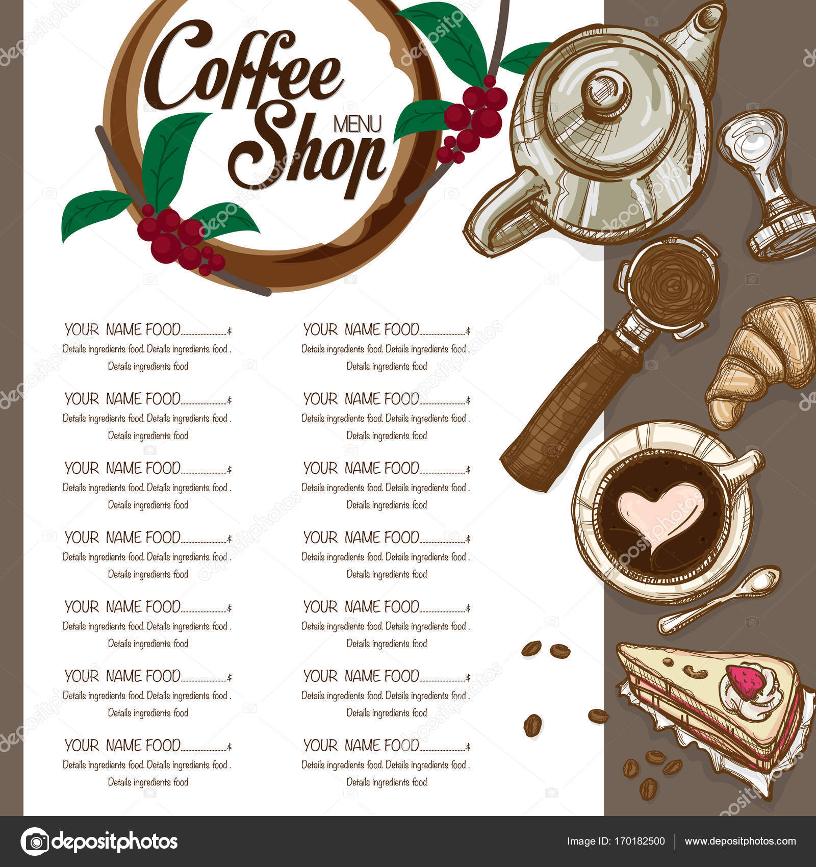 fish and chip shop menu template - menu design shop exaple resume and