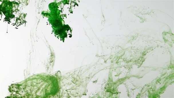 Zelená Abstraktní exploze Pozadí uvnitř vody