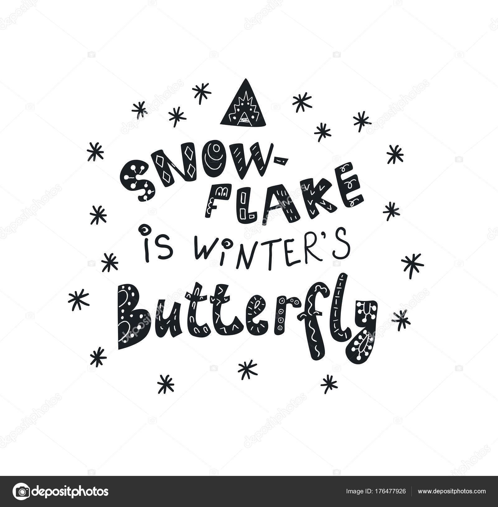 sprüche winter Winter Zitate und Sprüche. Handgezeichnete Schriftzug  sprüche winter