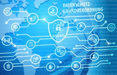 DSGVO General Data Protection Regulation Notification Background
