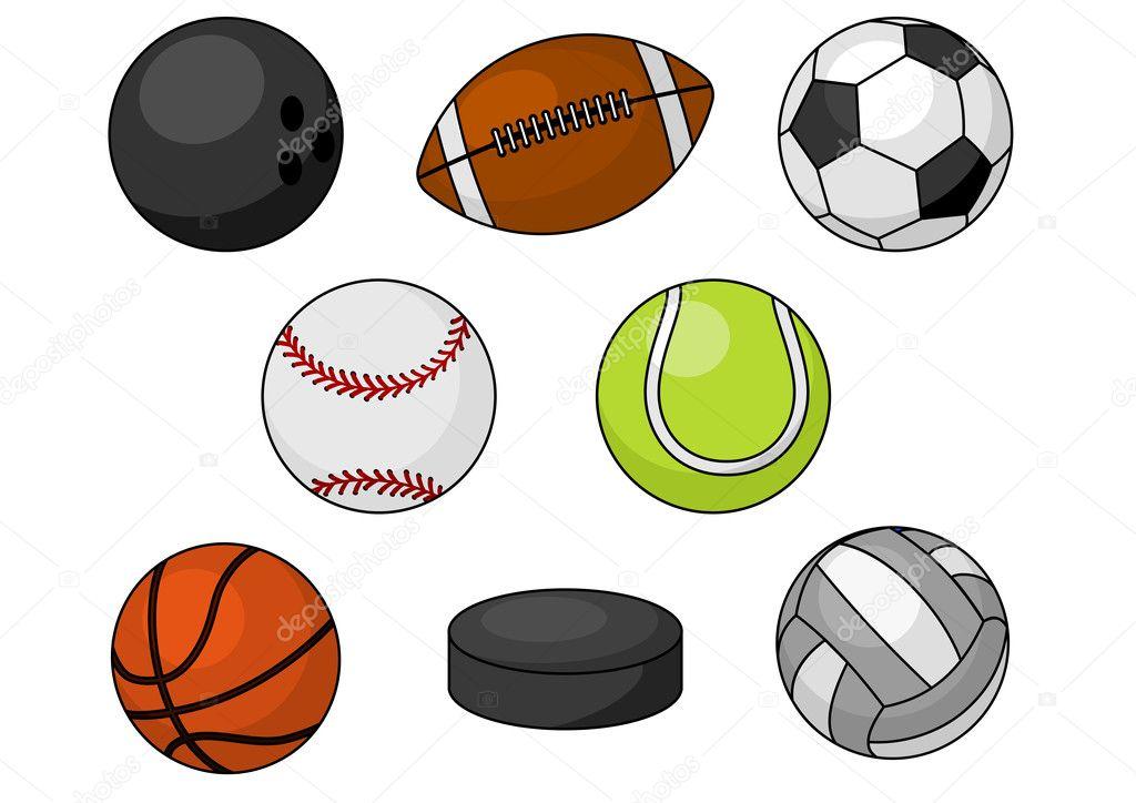 Vector Deportes Bolas Patrón De Fondo: Deportes De Pelota Descargar Vectores Gratis