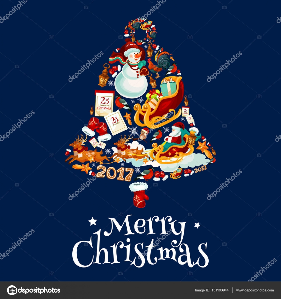 Картинка из символов с новым годом