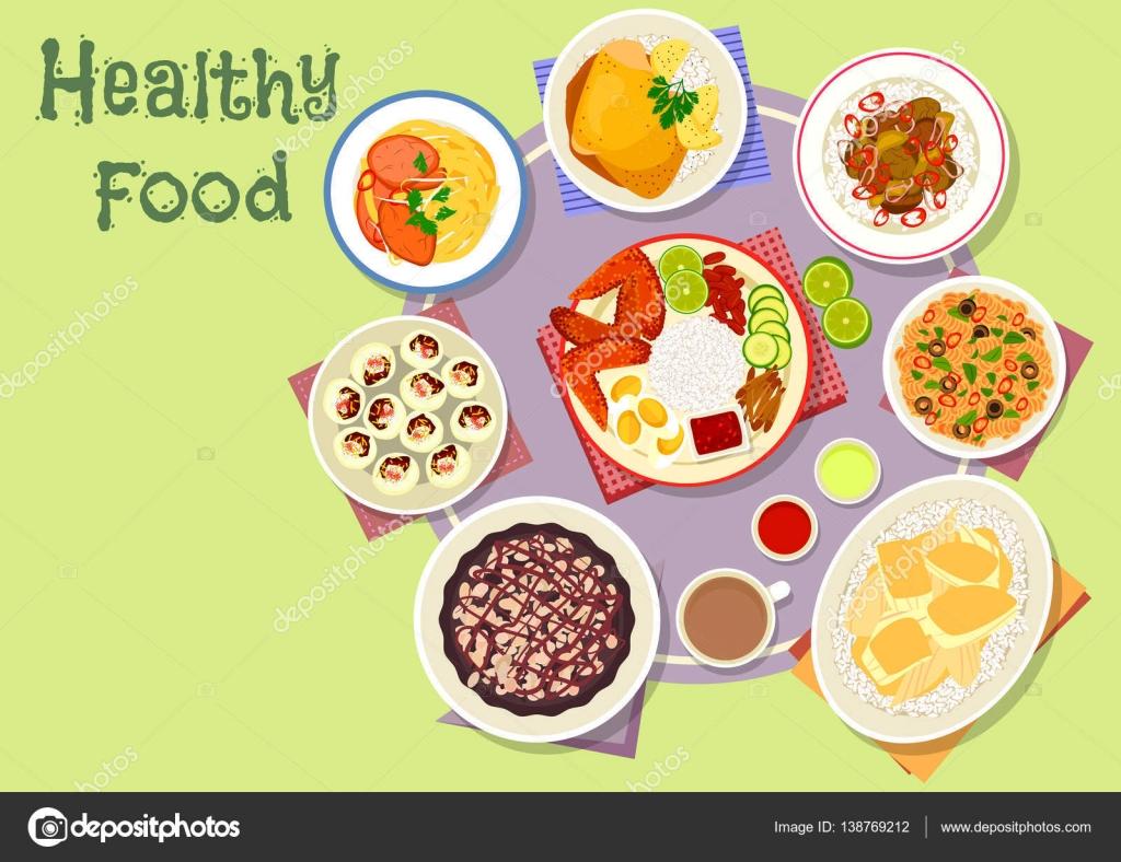 Asiatische Küche Gerichte Symbol für Mittags-Menü-design ...