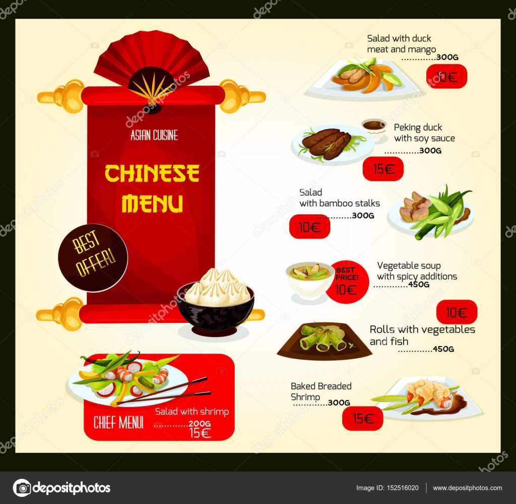 88 chinese restaurant menu template chinese new year for Asian cuisine menu