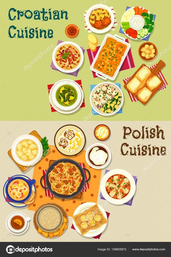 7aa5c9b80de Cozinha croata e polaca ícone