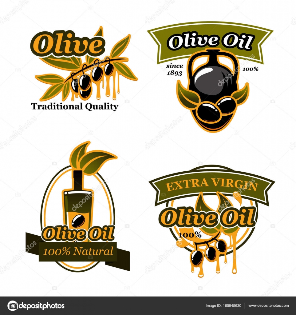 Olive oil extra virgin products design stock vector seamartini olive oil extra virgin icons and symbols black olive fruit on branch with drop of oil isolated symbol with bottle and jug decorated by ribbon banner and buycottarizona