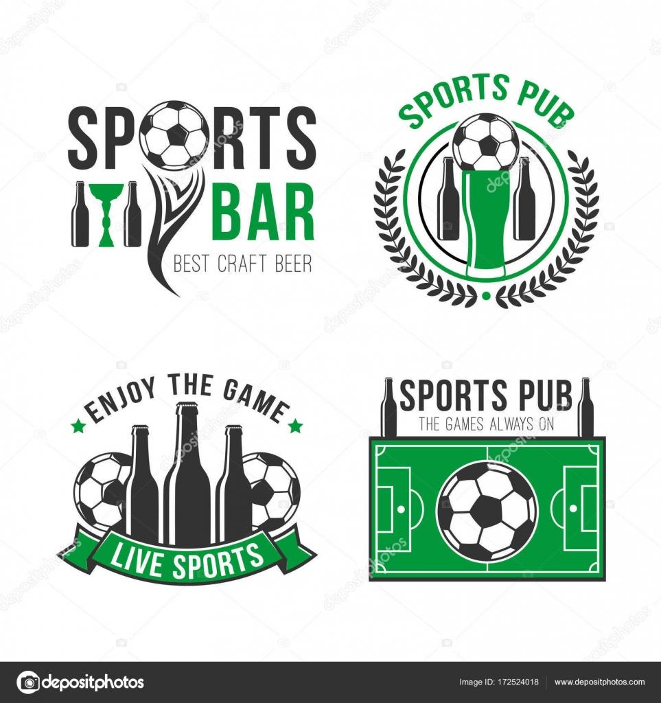 Fußball oder Fußball Sport bar Vektor icon — Stockvektor ...