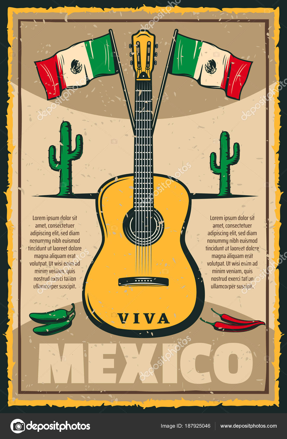Mexican holiday cinco de mayo fiesta sketch poster stock vector cinco de mayo mexican holiday sketch poster of mexico flag and jalapeno peppers for traditional fiesta celebration vector greeting card retro sketch guitar m4hsunfo