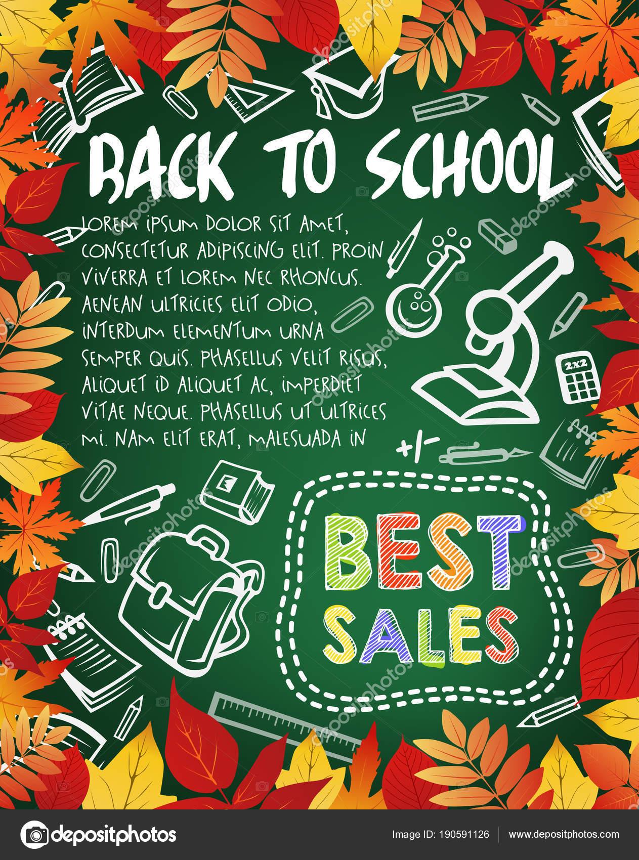 Zpátky do školy speciální nabídka plakát 8c5ba92407