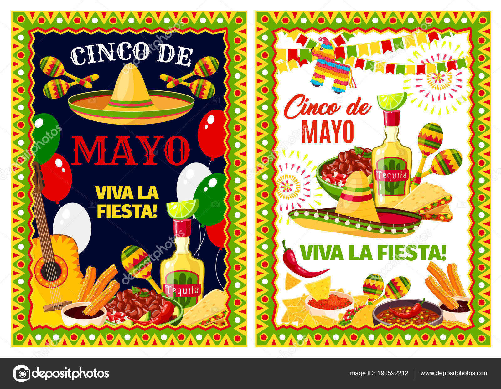 Mexican cinco de mayo holiday greeting banner stock vector mexican cinco de mayo holiday greeting banner stock vector m4hsunfo Image collections