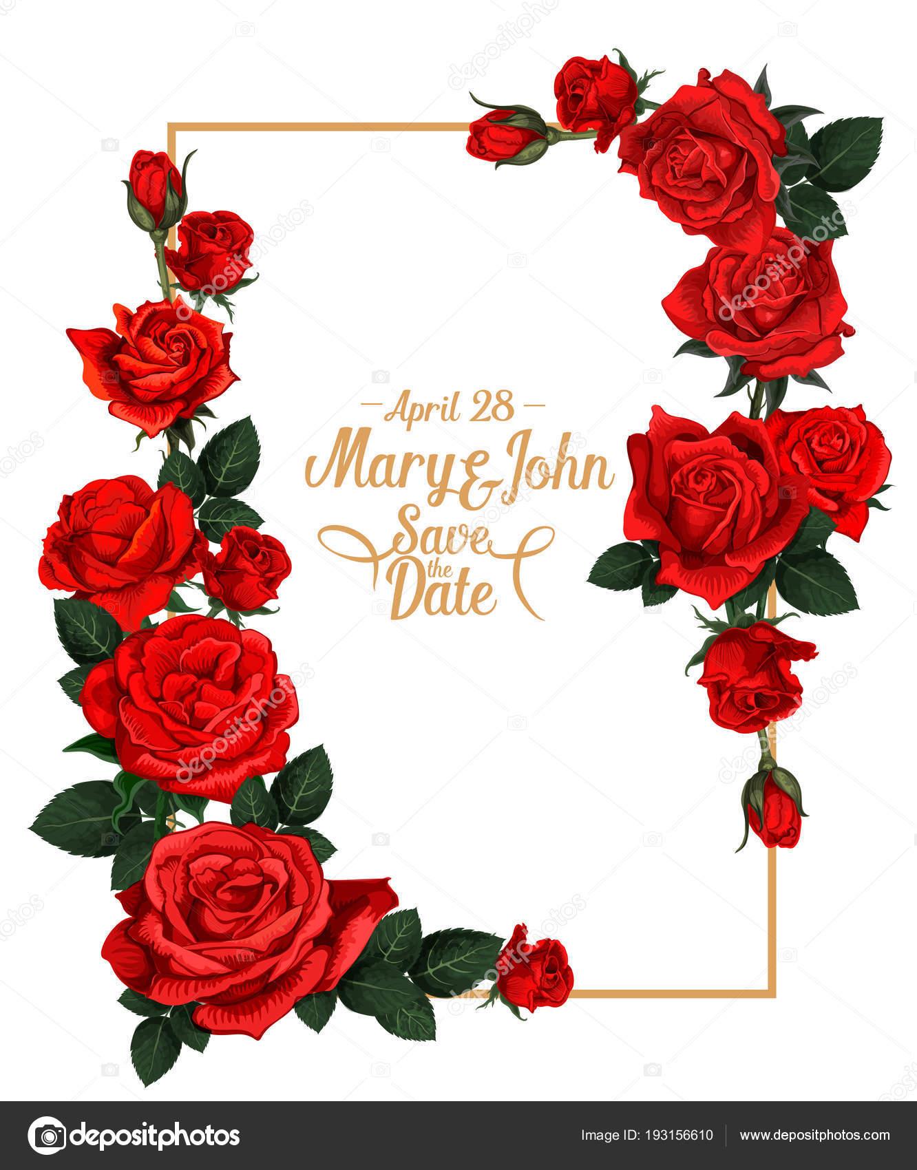 Marco de vectores florales de la boda — Vector de stock © Seamartini ...