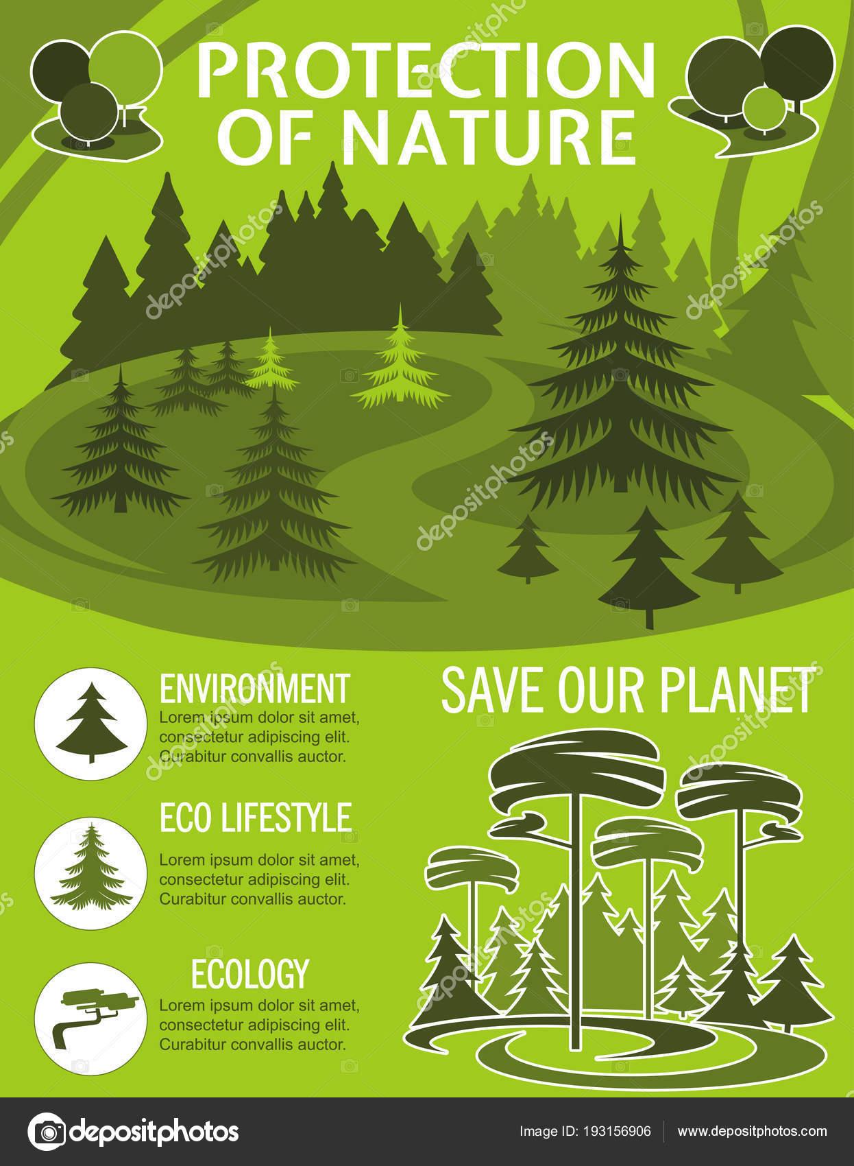 Zapisz Plakat Planeta Dla Ochrony Przyrody Ekologia