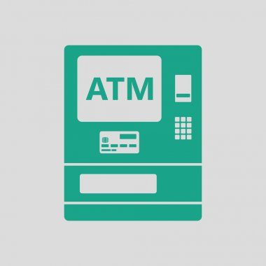 ATM icon  illustration.