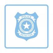 policejní odznak ikona