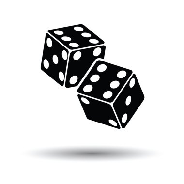 Craps dice icon.