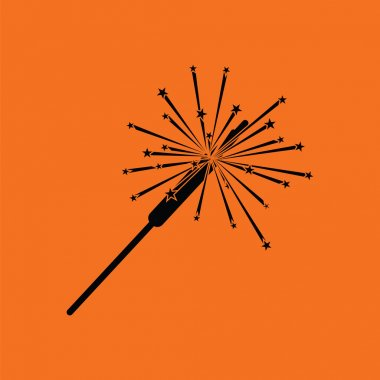 Party sparkler icon