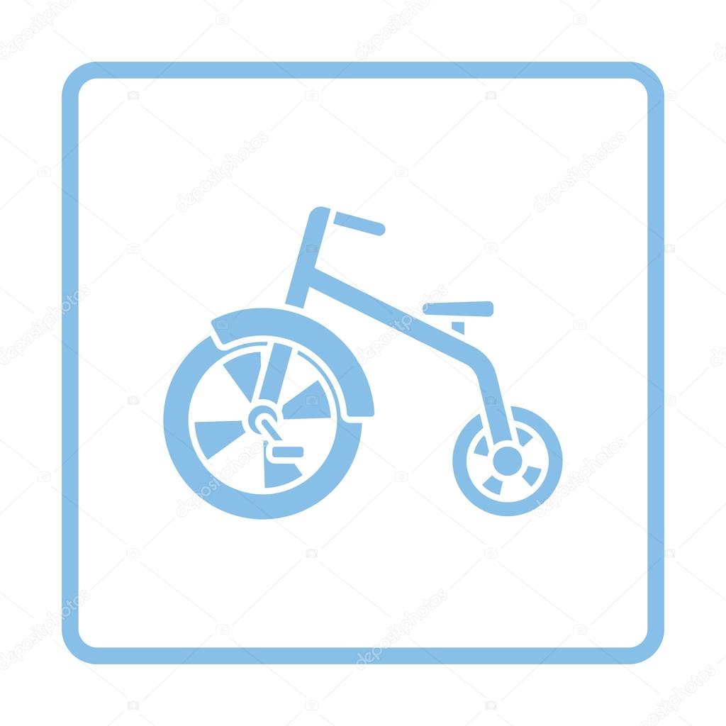Baby-Trike-ico — Stockvektor © angelp #126491122