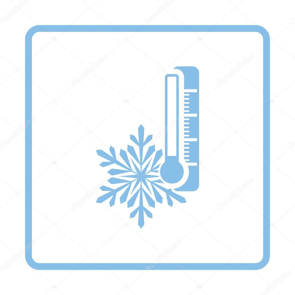 Winter cold icon