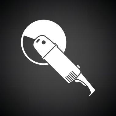 white grinder icon