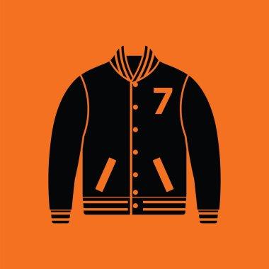 Vector illustration design of Baseball jacket icon stock vector