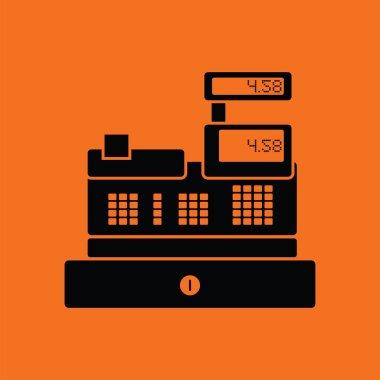 Cashier icon  illustration.