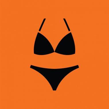 Bikini icon  illustration.