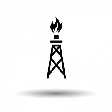 Gas tower icon.