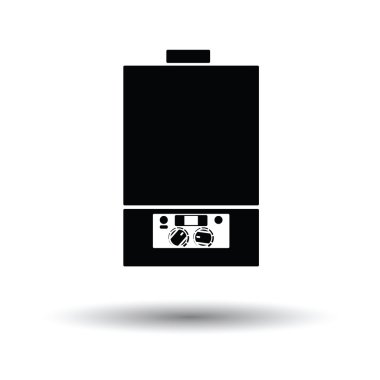 Gas boiler icon.