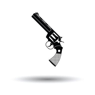 Revolver gun icon