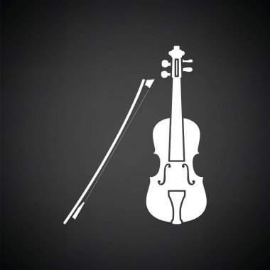 Violin icon  illustration.