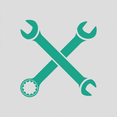Crossed wrench  icon
