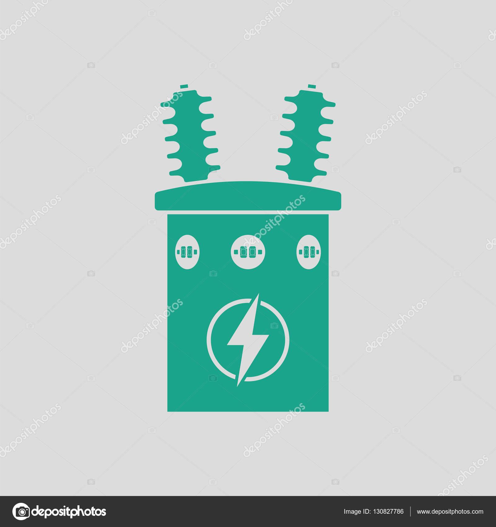 Elektro Transformator-Symbol — Stockvektor © angelp #130827786
