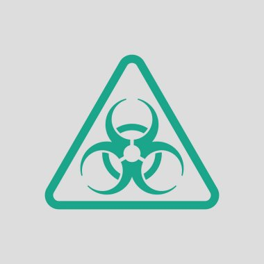 Icon of biohazard
