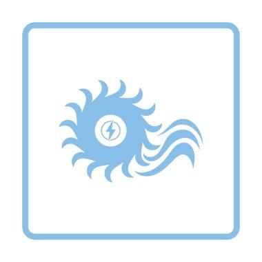 Water turbine icon