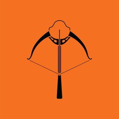 Crossbow icon illustration.