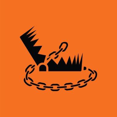 Bear hunting trap  icon