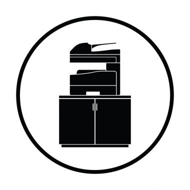 Copying machine icon