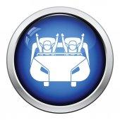 Fotografie Achterbahn-Einkaufswagen-Symbol
