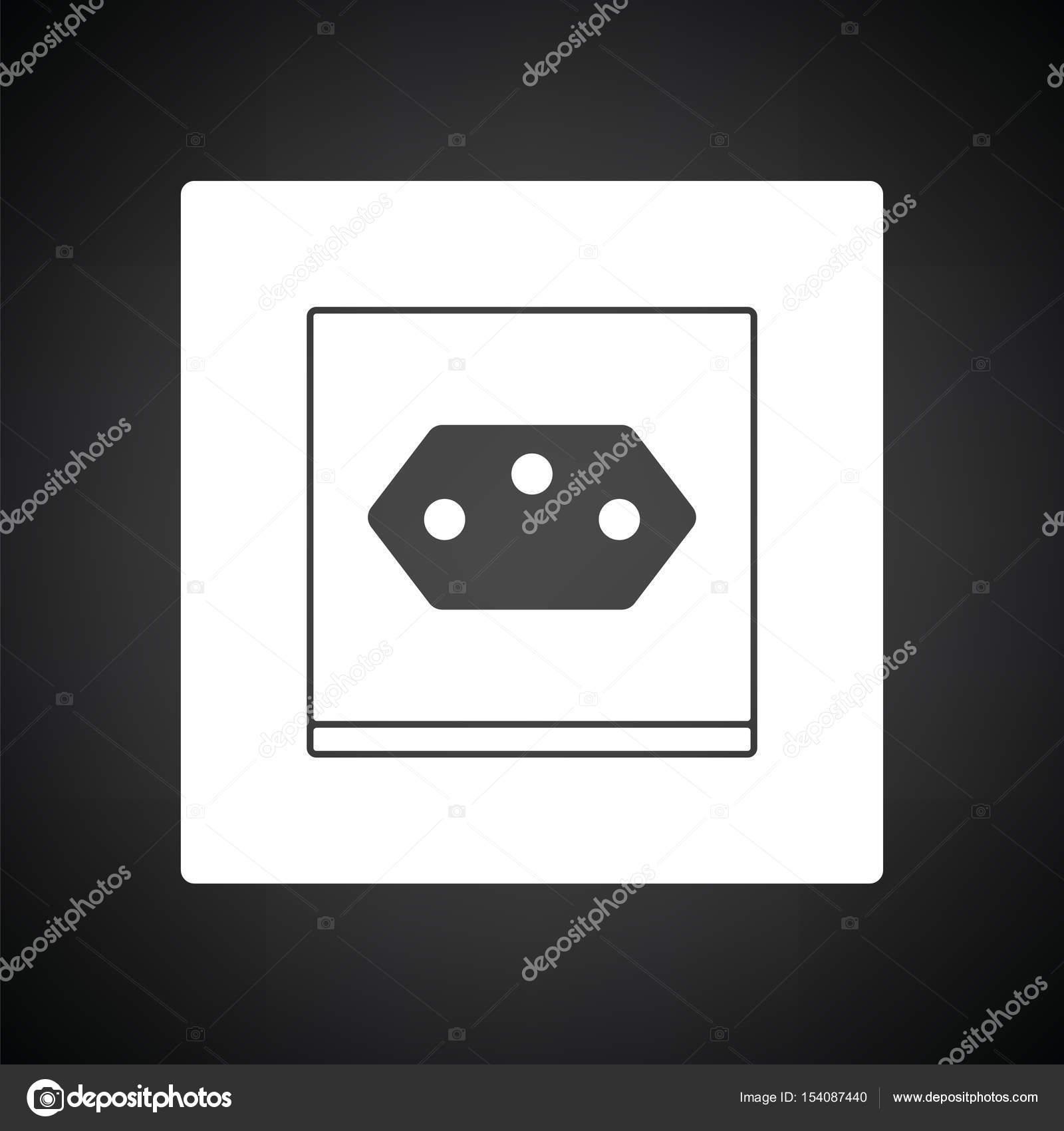 Schweizer Steckdose Symbol — Stockvektor © angelp #154087440