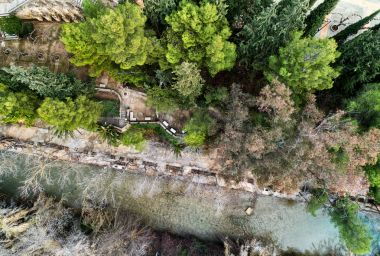 Segura river near the Santuario de la Virgen de la Esperanza