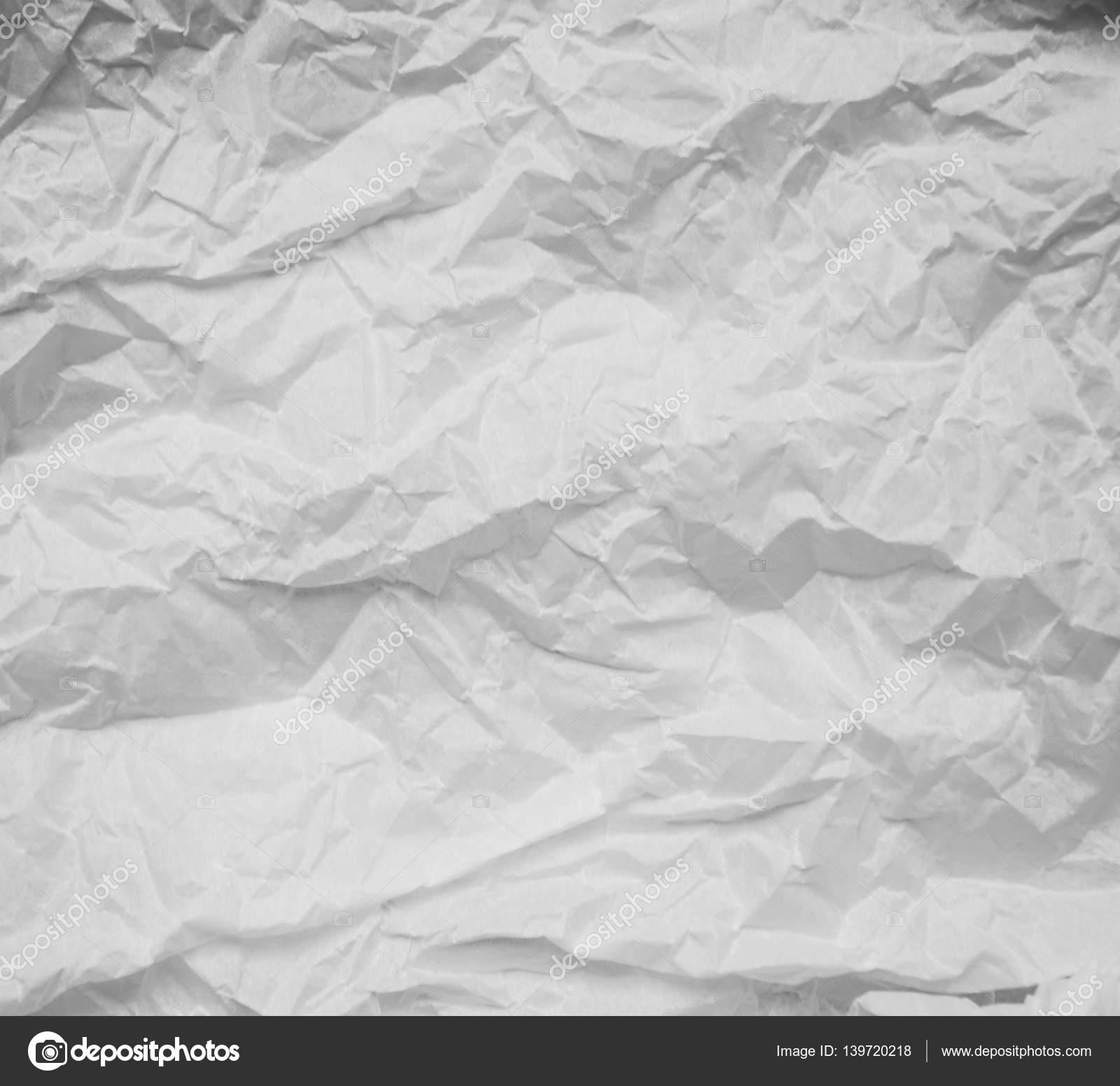 Trama Di Sfondo Bianco Carta Stropicciata Foto Stock Alexis84