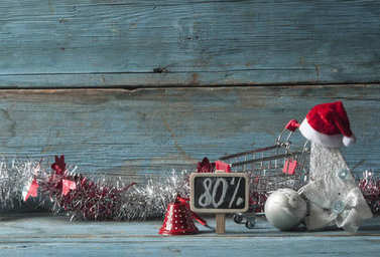 Discount at christmas