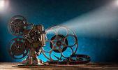 Starý styl filmu projektor, detail