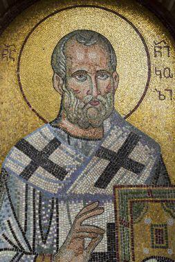 Mosaic of Saint Nicholas