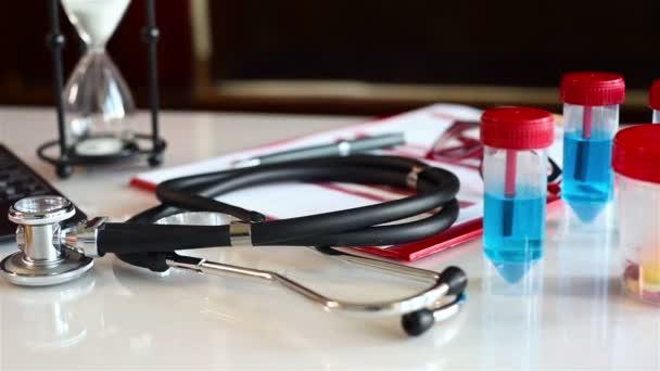 Stethoscope On Medical History