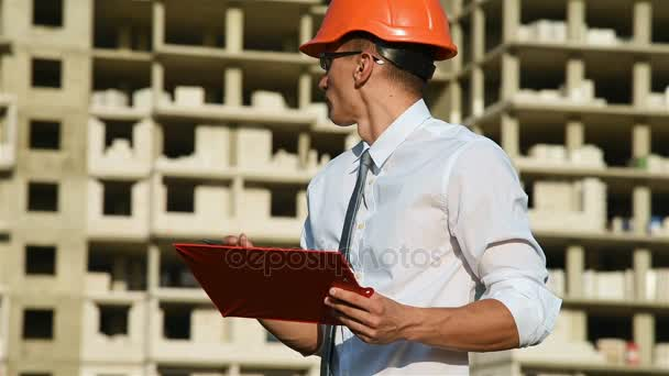 Builder In Hardhat With Clipboard