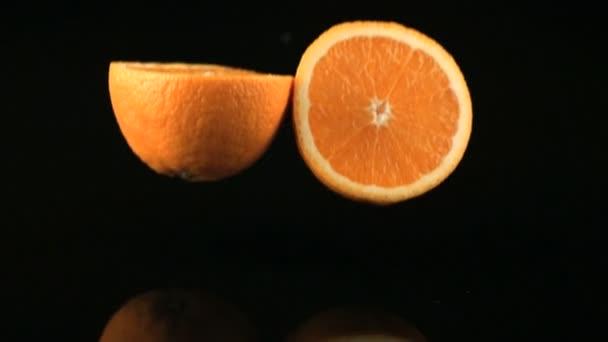 rallentatore caduta arancione