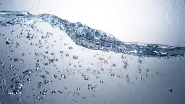 Water pouring and splashing, slow motion 120fps.