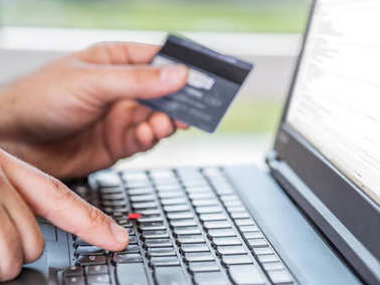 Online shopping.  Businnes Background.