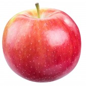 Fotografie Ripe red apple. File contains clipping path.